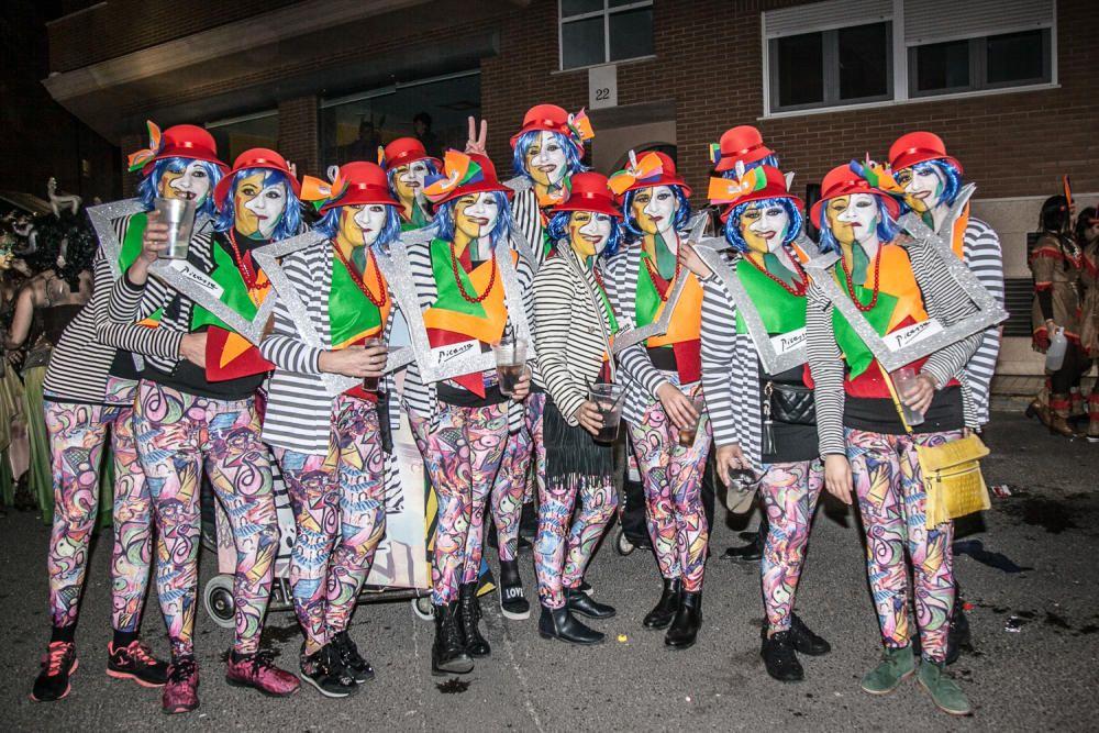 Muro se viste de color con su tradicional carnaval