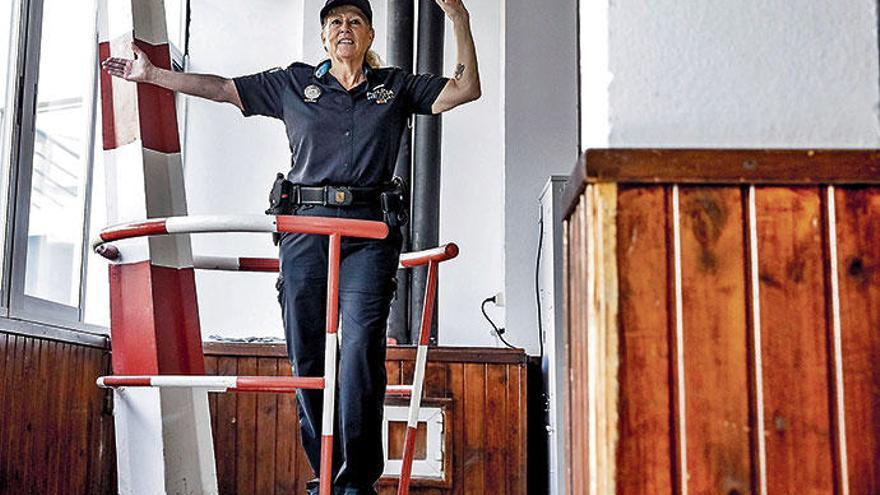 Eine Pionierin der Polizeiarbeit auf Mallorca