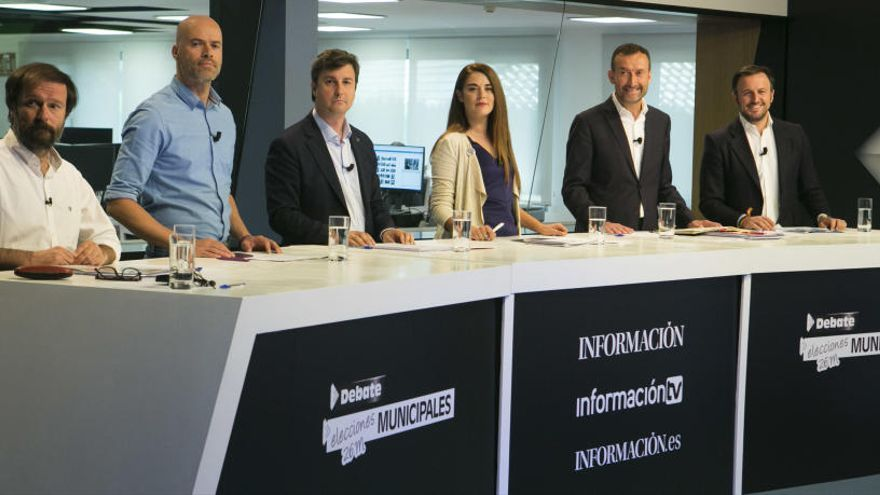 Así ha sido el sexto debate de INFORMACIÓN con los candidatos a la Alcaldía de Elche