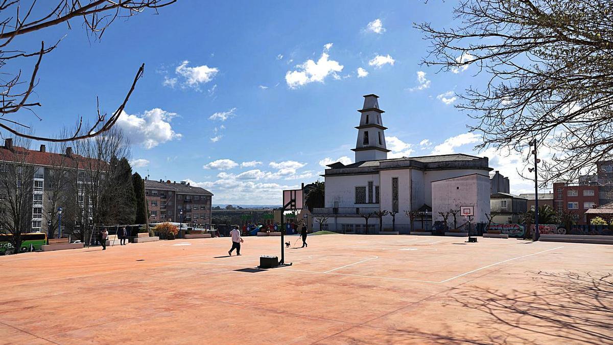Plaza de Vilaboa, en Culleredo.  | // LA OPINIÓN