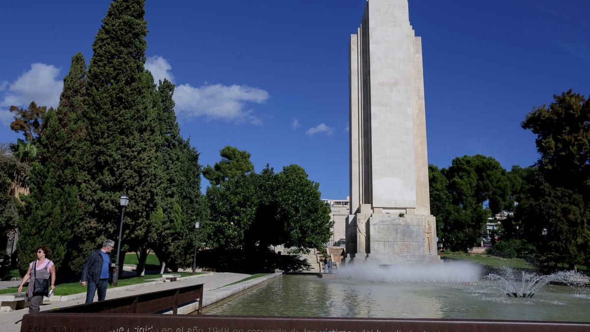 Obelisco de sa Feixina que el TSJB ordena conservar