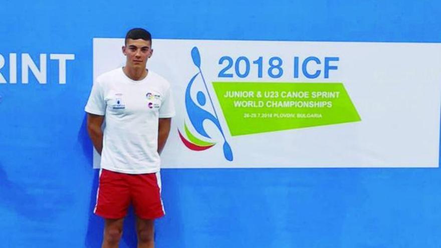 Iván Fernández, del Club Ría de Betanzos, al Mundial y al Europeo sub 23