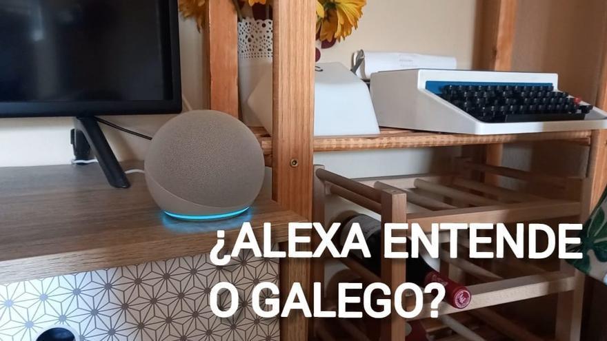 Siri non entende o galego, e Alexa?