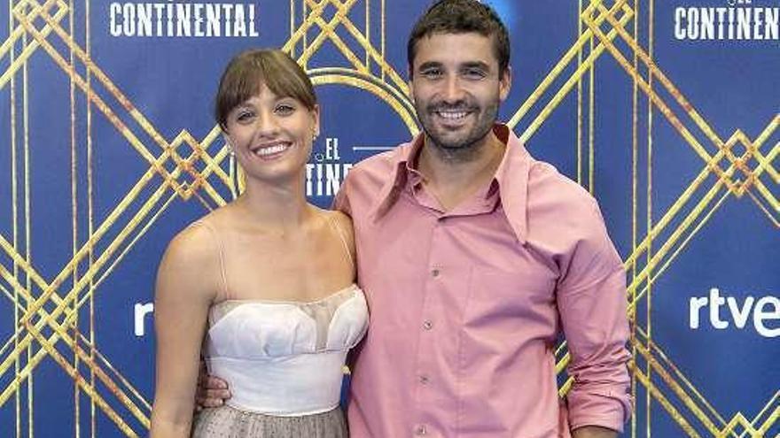 """Michelle Jenner y Álex García presentan """"El Continental"""", nueva serie de La 1 de TVE"""