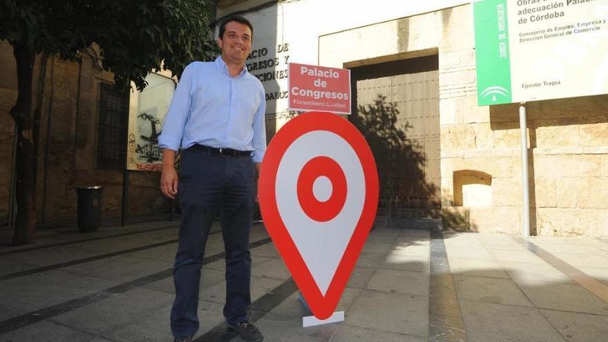 """Bellido: """"El Palacio de Congresos de Torrijos no está a la altura de lo que Córdoba necesita"""""""