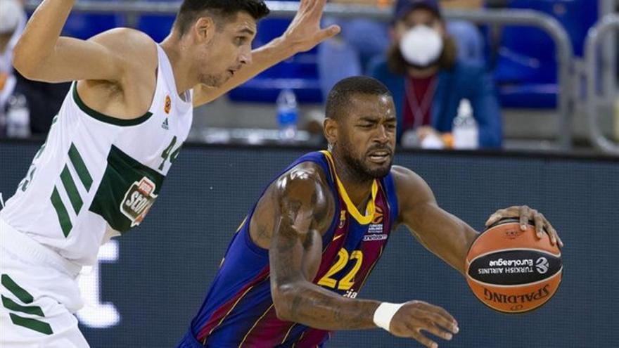 El Barça necesita una prórroga para ganar al Panathinaikos