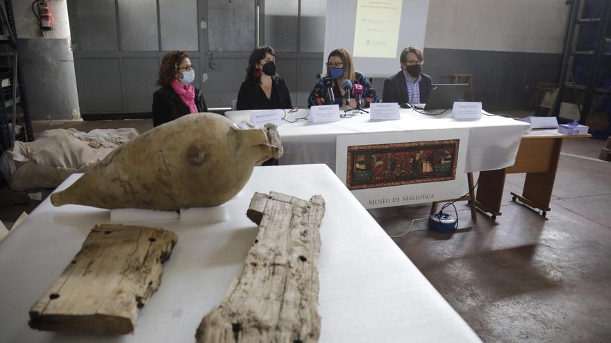 El pecio romano de Can Pastilla, un hallazgo único en el mundo