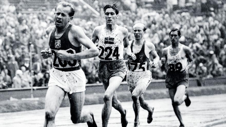Héroes Olímpicos: Emil Zatopek