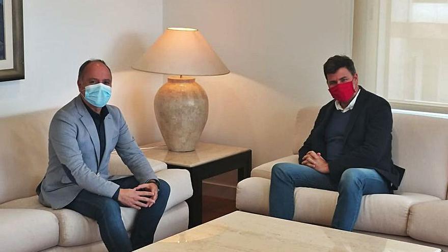 Regades y González Casares analizan vías para reducir la contaminación industrial