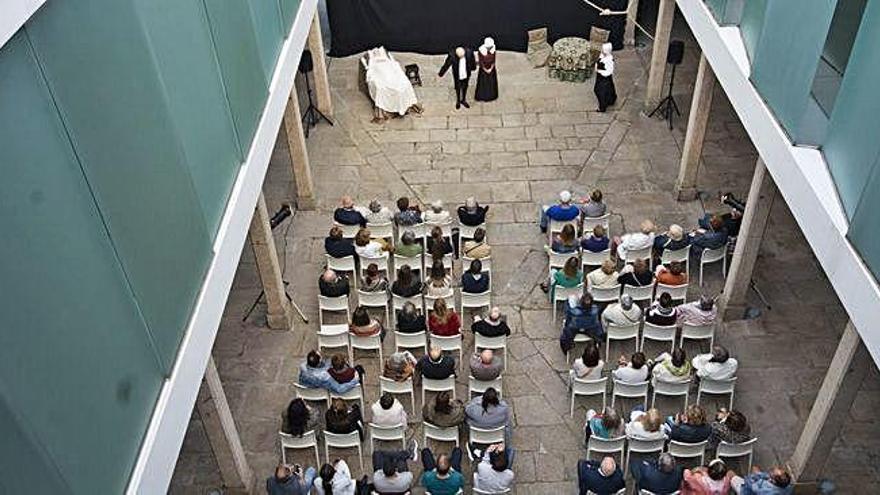 Teatro aficionado en la Luis Seoane