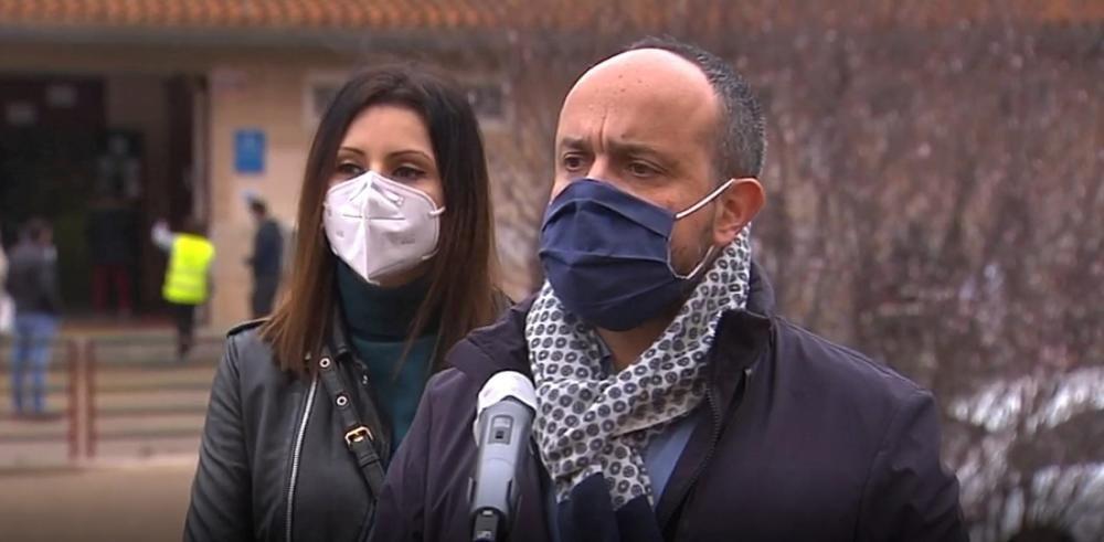 Declaraciones del candidato Alejandro Fernández ...