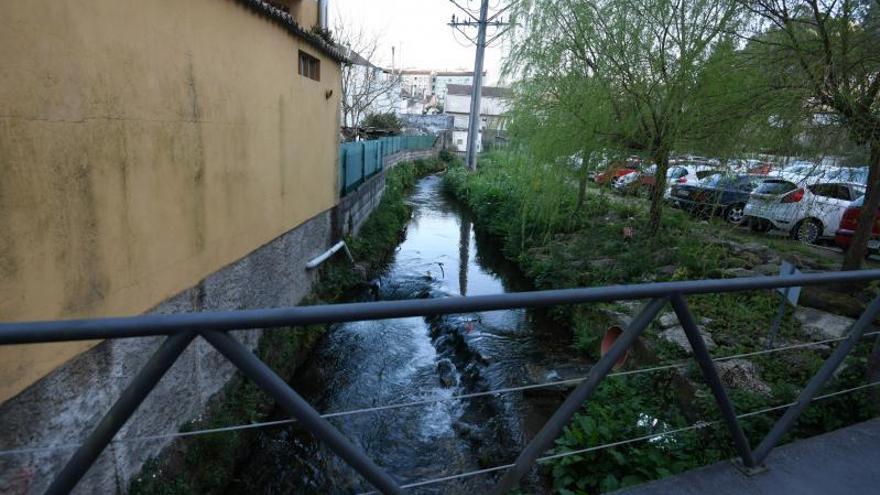 El plan para sanear el río Lameira de Marín ronda los 3,7 millones de euros