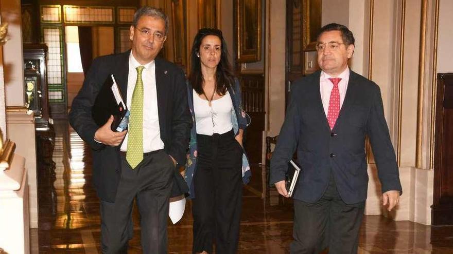 El PSOE coruñés, tras Pedro Sánchez