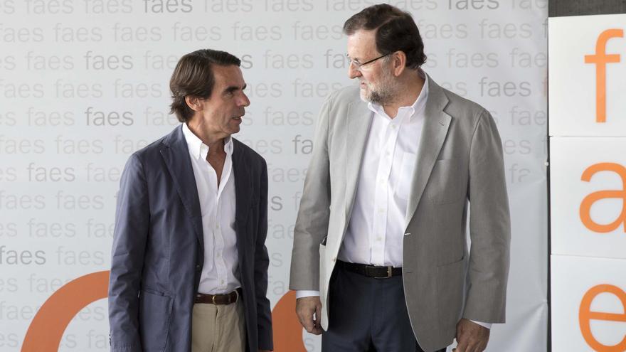 Aznar y Rajoy declaran esta semana en el juicio de la caja b