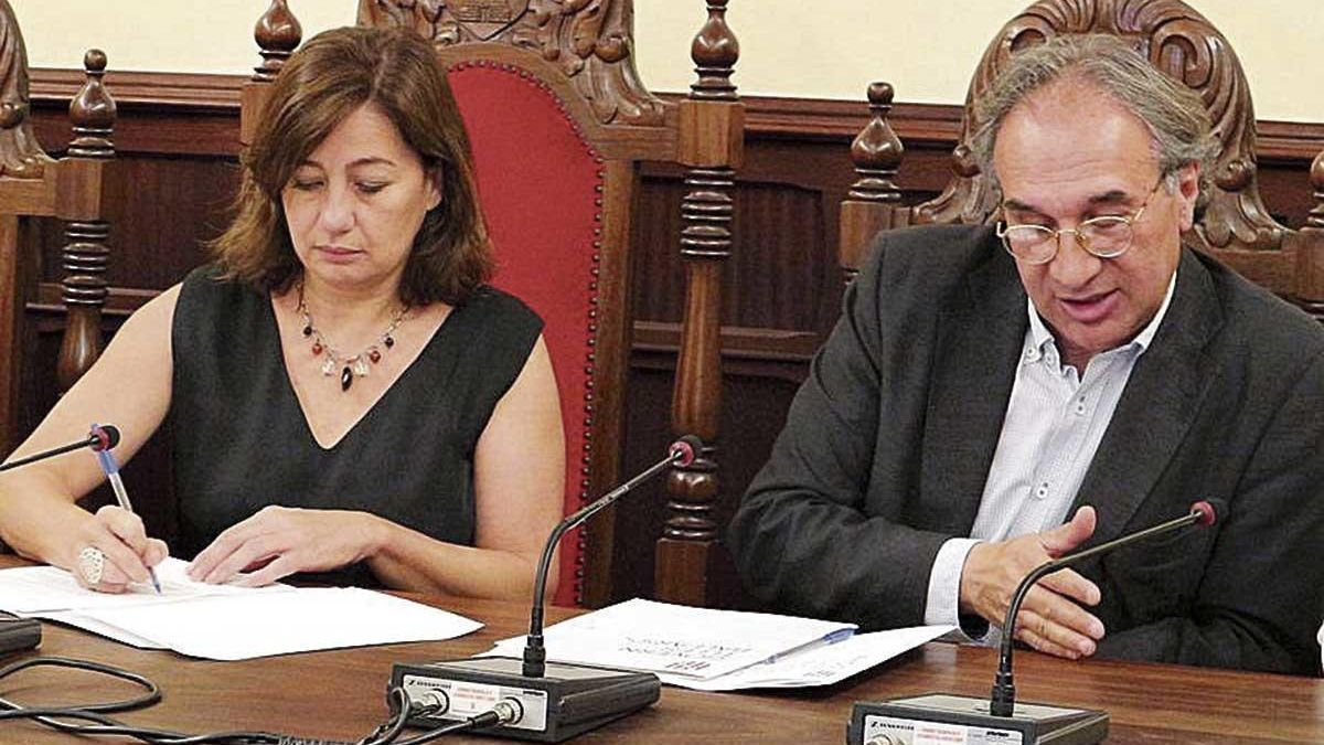 Armengol y Martí March explicarán su gestión en la cámara.