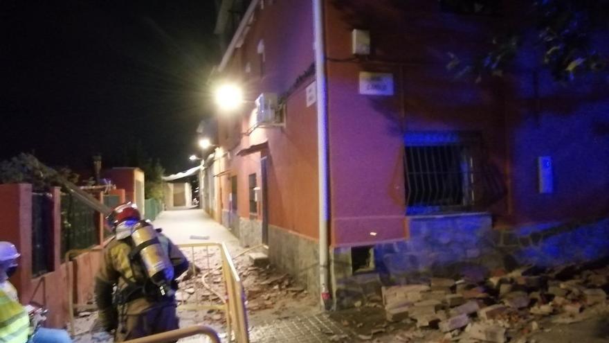 Dos heridos en Sabadell por una explosión en su casa