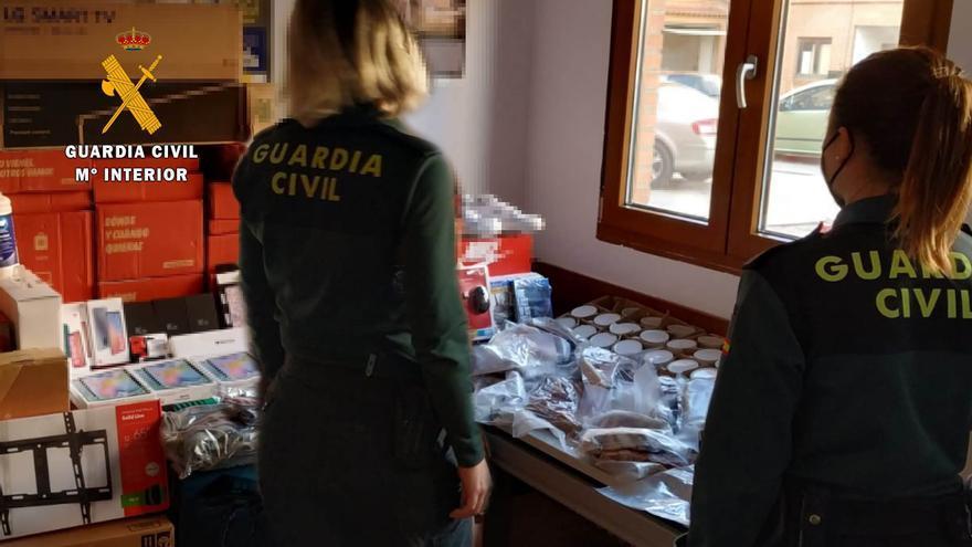 Así detuvo la Guardia Civil a dos camioneros de una ruta logística que se quedaban con la mercancia para venderla