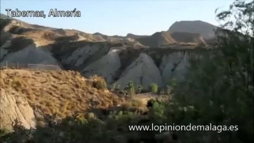 El desierto de Tabernas, Almería
