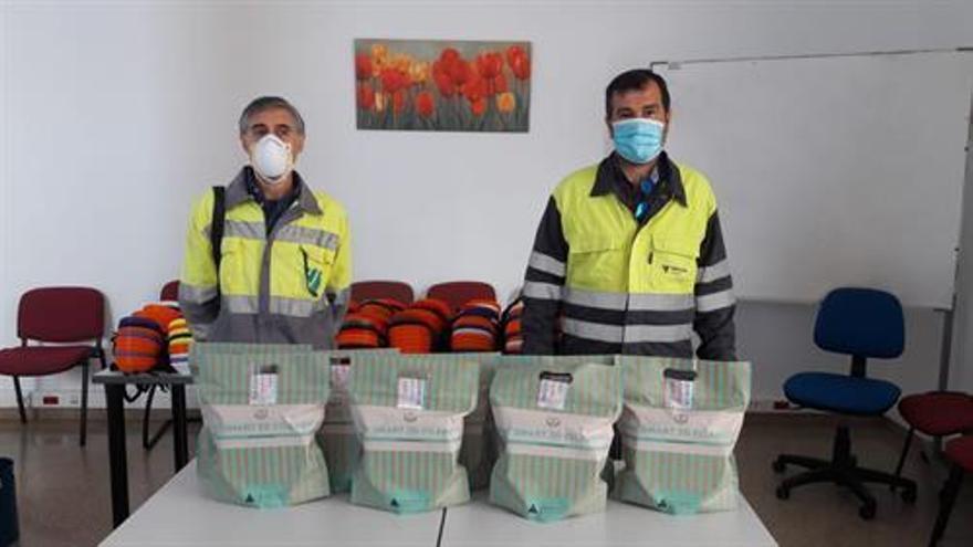 Cementos Cosmos y su plantilla hacen donaciones por 10.000 euros para luchar contra el covid-19