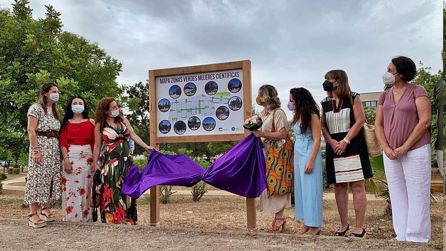 Parc Tecnològic dedica  once jardines a científicas