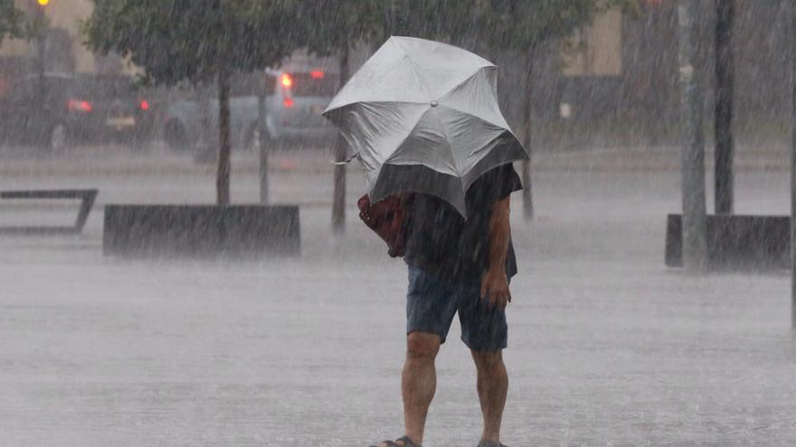 Llega la DANA: cuándo empezarán las tormentas y las lluvias en Valencia