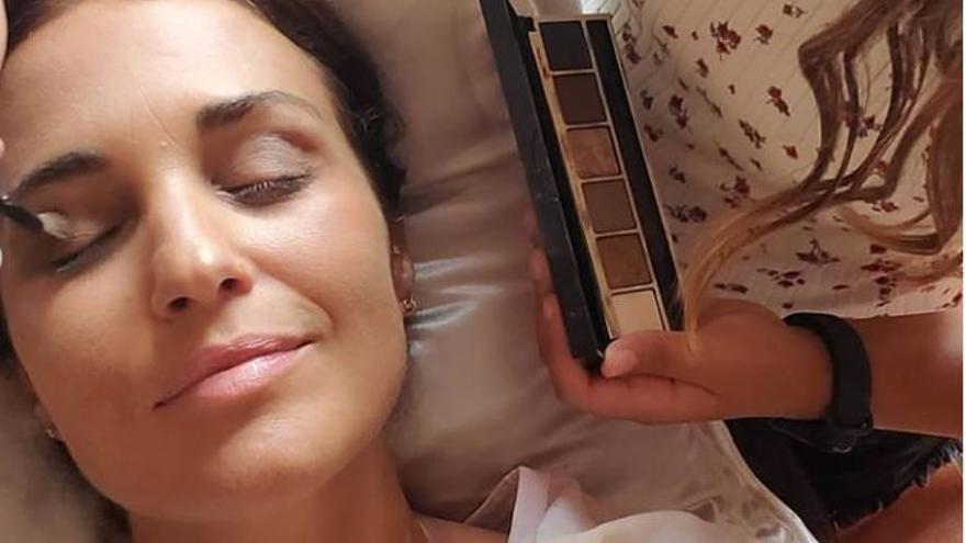 """La cariñosa felicitación de Paula Echevarría a su sobrina asturiana, """"la que mejor me maquilla"""""""