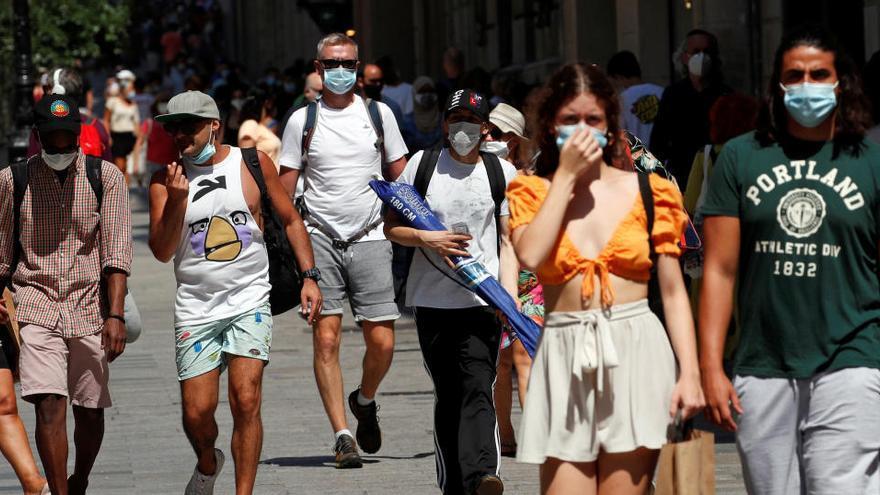 Cataluña notifica 969 casos más y 8 fallecidos por coronavirus en un día
