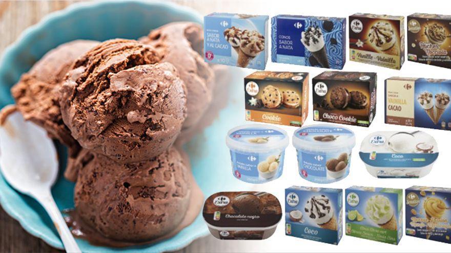 Carrefour retira helados por contener óxido de etileno