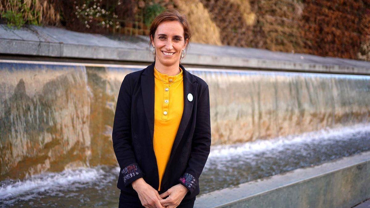 La candidata a la presidencia de la Comunidad de Madrid y coordinadora general de Más Madrid, Mónica García