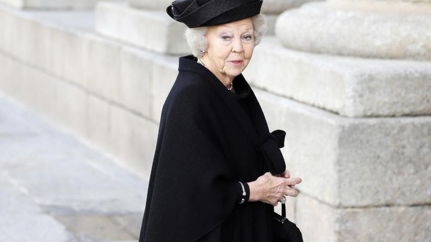 Funeral por la infanta Pilar de Borbón