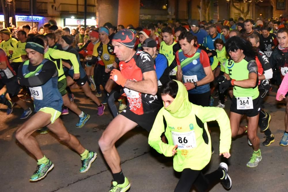 La cursa de Sant Silvestre de Berga 2017