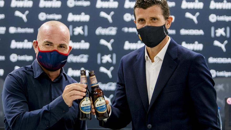 Amstel 'Hecha en Valencia', la cerveza que une al Valencia CF y Levante UD
