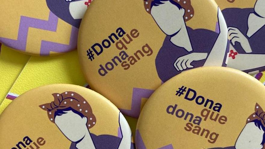 El Banc de Sang dedica un reconeixement a les donants pel Dia de la Dona