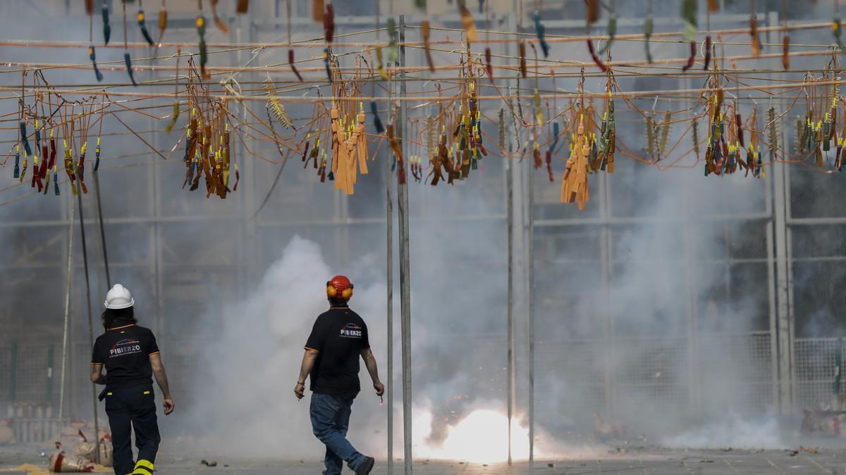 El pirotécnico es uno de los sectores más afectados por la pandemia