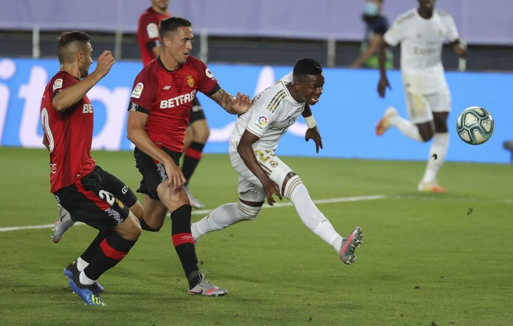LaLiga Santander: Real Madrid - Mallorca.