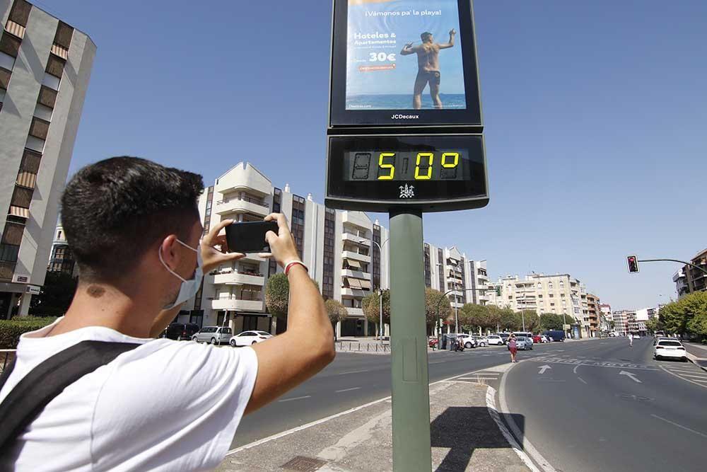 Tórrido domingo de calor en Córdoba