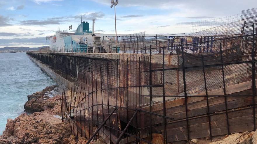 Las reparaciones del dique de es Botafoc, en Ibiza, costarán más de 14 millones de euros