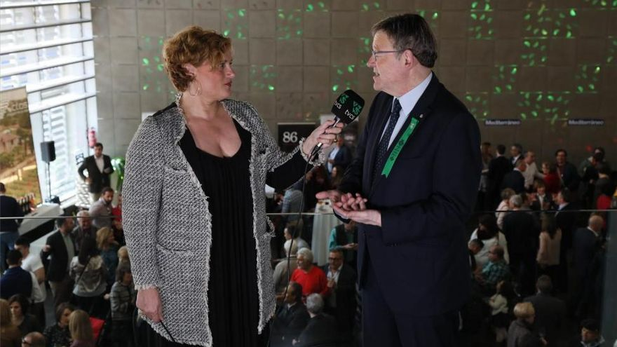 Puig pide paz para las primarias y confirma su apoyo a Susana Díaz