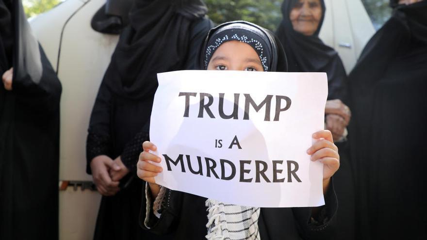 Irán emite una orden de arresto contra Trump por el asesinato de Soleimaní