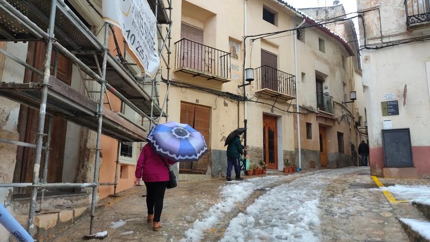 Nieve en Bocairent