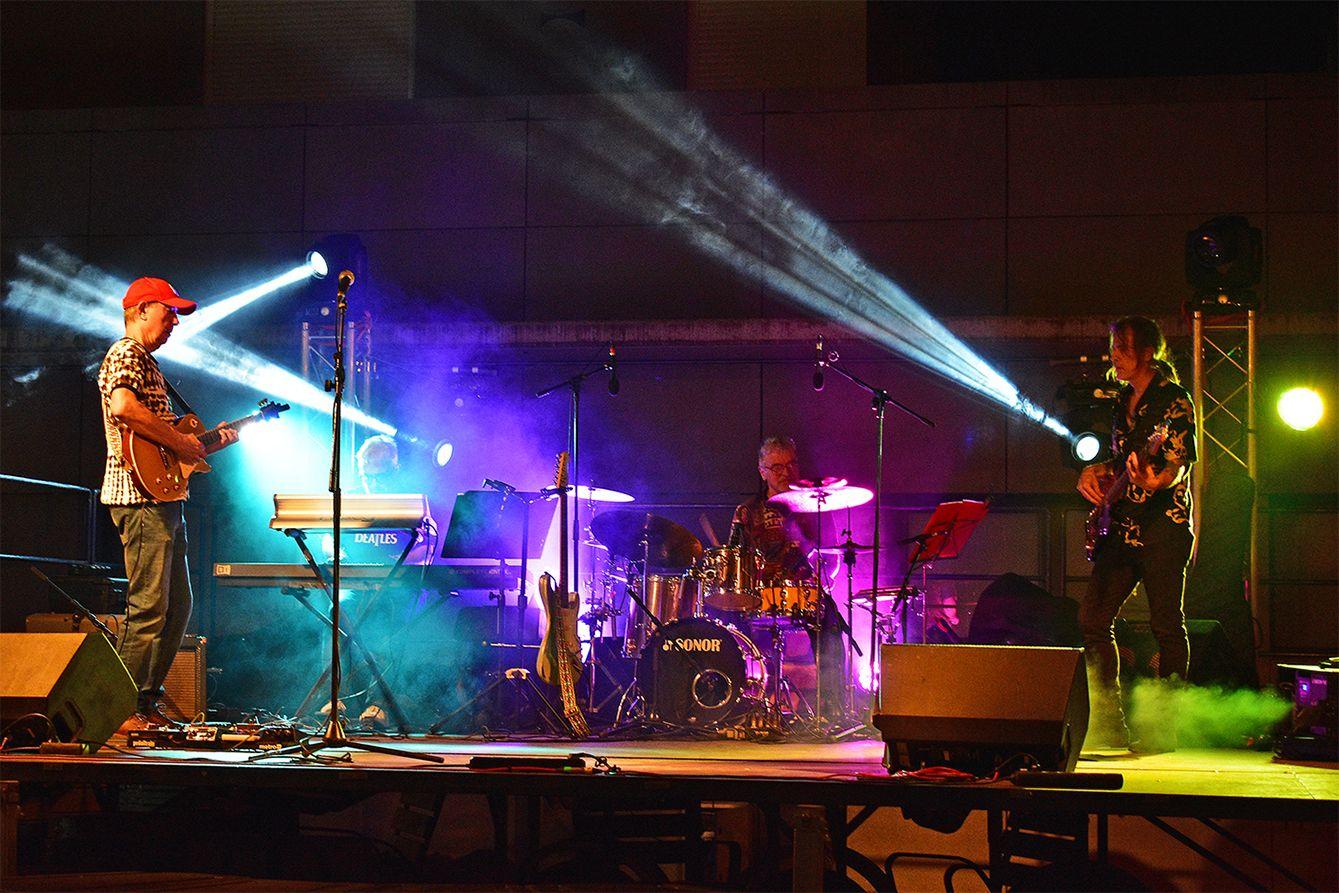Concert de Lluís Cuadrench Trio, dins del programa de la Festa Major