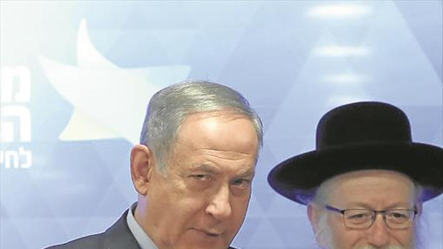 El bloqueo amenaza la continuidad de Netanyahu