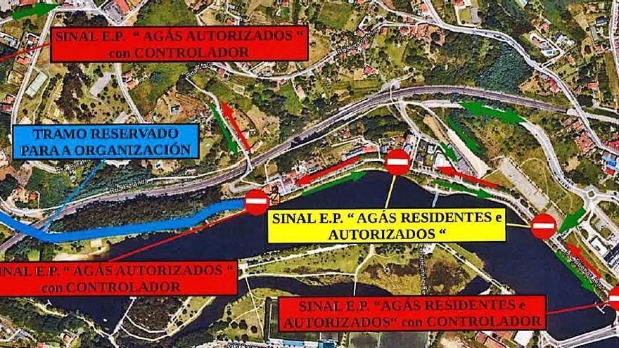 Restricciones de tráfico por la Regata Internacional Xacobeo