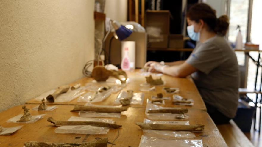 Troben restes d'una dotzena d'infants de fa uns 3.000 anys al jaciment de Roc de les Orenetes de Queralbs