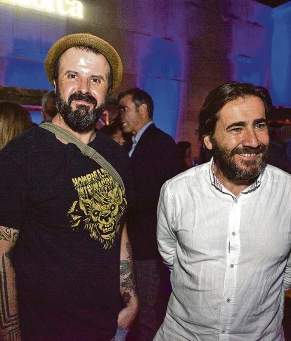 Xisco Alario, de la sección de Maquetación de este diario e Ignacio Salas, del Col·legi d'Arquitectes.