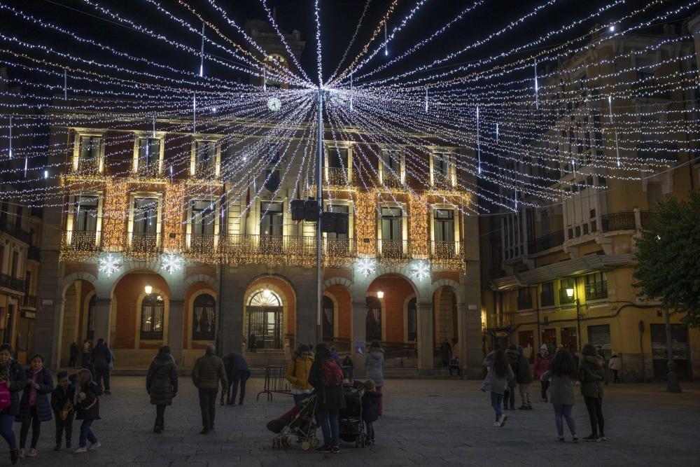 Encendido de las luces de Navidad