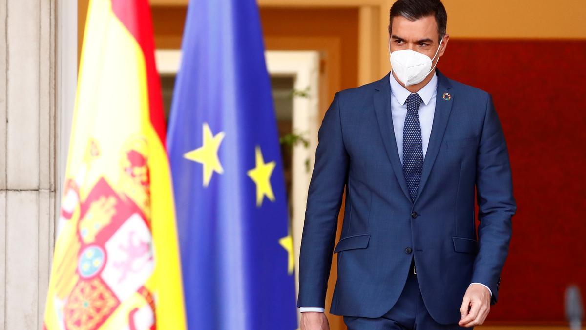 Una imagen de Pedro Sánchez