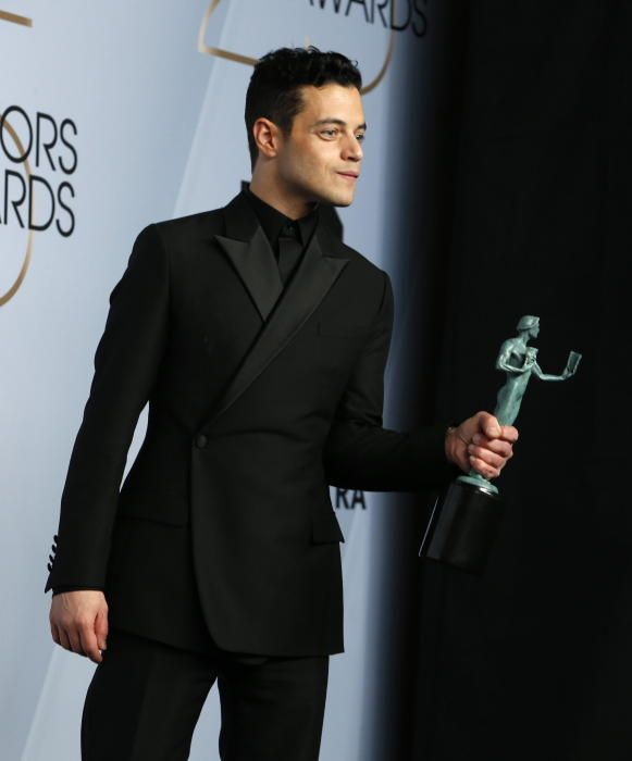 """Premios del Sindicato de Actores: Rami Malek, que interpreta a Freddie Mercury en """"Bohemian Rhapsody"""""""