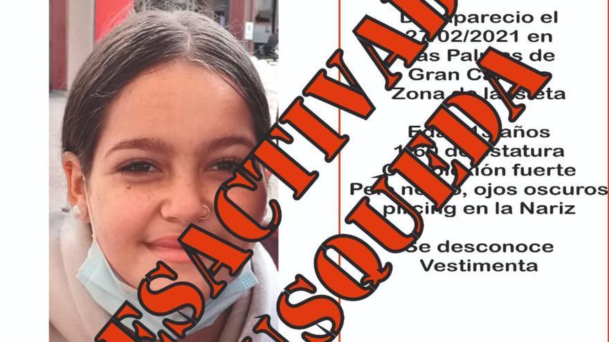 Localizada la menor desaparecida en La Isleta