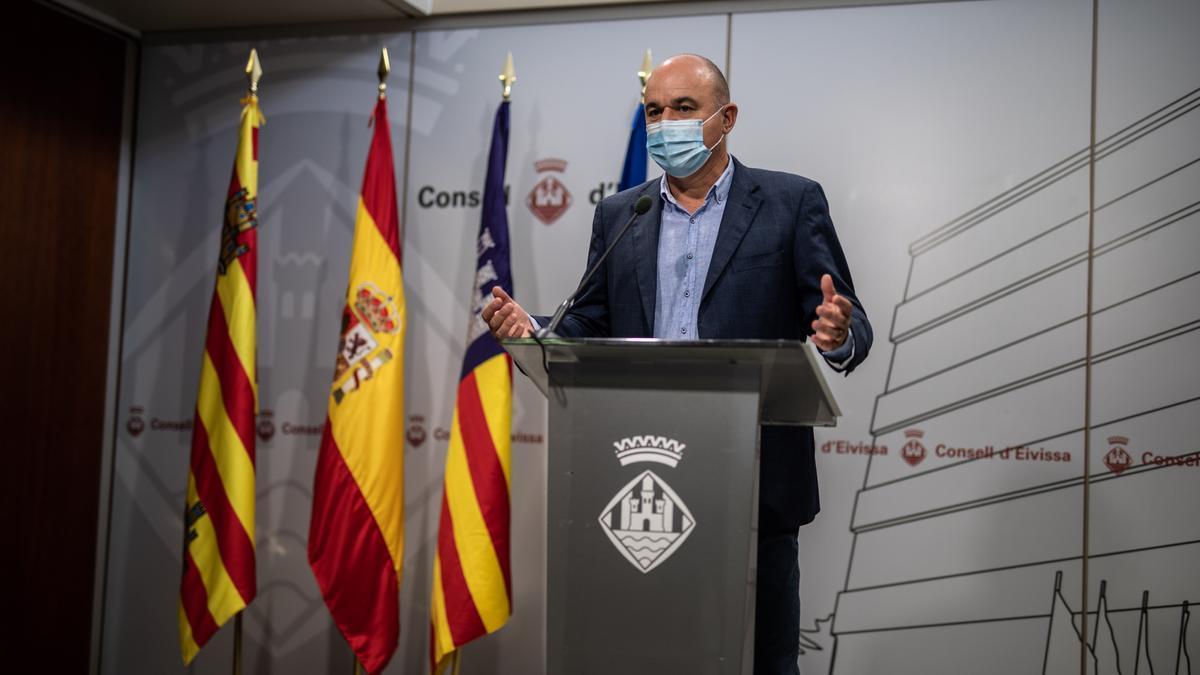 El presidente del Consell de Ibiza, Vicent Marí.